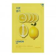 Маска Pure Essence Mask Sheet Lemon Тонизирующая Тканевая Пьюр Эссенс Лимон, 20 мл