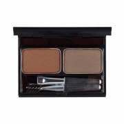Палетка It's Top Professional Eyebrow Cake 02 Choco Brown+Gray Brown для Бровей тон 02 Коричневый+Серо-Коричневый, 2*2г