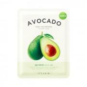 Маска The Fresh Avocado Mask Sheet Смягчающая Тканевая Авокадо, 21г