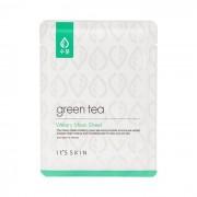 Маска Green Tea Watery Mask Sheet Тканевая для Жирной и Комбинированной Кожи с Зеленым Чаем, 17г