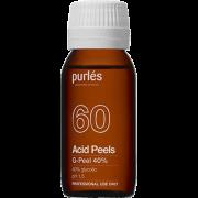 Пилинг G-Peel 40% pH 1,5 Гликолевый для Сухой Кожи, 100 мл
