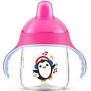 Чашка-Поильник, (260 мл, 12 мес+) Розовый для Детей до 3-х лет