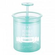 Стакан-Помпа Bubble Bubble Maker Mint для Создания Пышной Пены, 1 шт