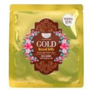 Маска Hydrogel Mask Pack Гидрогелевая для Лица с Коллоидным Золотом и Пчелиным Маточным Молочком, 30г