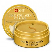 Патчи Gold Collagen Eye Patch Гидрогелевые Многофункциональные с Золотом и Коллагеном, 60 шт