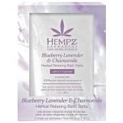 Соль Blueberry Lavender & Chamomile Herbal Relaxing Bath Salts для Ванны Расслабляющая Лаванда, Ромашка и Дикие Ягоды, 2*28г