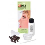 Синтетическая Краска-Хна в Капсулах для Ресниц (Черный) 28 Day Mascara Black, набор 15 капсул
