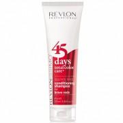 Шампунь-Кондиционер 45 Days Shampoo для Ярких Красных Оттенков, 275 мл