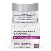 Крем-Гель Cream-Gel for Problem and Oily Skin Matting Effect для Проблемной и Жирной Кожи Матирующий Эффект, 50 мл