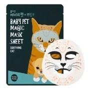 Маска-Мордочка Baby Pet Magic Mask Sheet Cat Тканевая Смягчающая Кошка, 22 мл