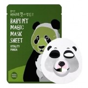 Маска-Мордочка Baby Pet Magic Mask Sheet Vitality Panda Тканевая против Темных Кругов под Глазами Панда, 22 мл