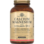 Кальций - Магний Calcium Magnesium with Vitamin D3 с Витамином D3 Таблетки №150