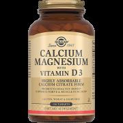 Кальций - Магний Calcium Magnesium with Vitamin D3 с Витамином D3 Таблетки №150, 1 уп