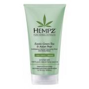 Маска-глина Exotic Green Tea & Asian PearExfoliating Cleansing Mud&Mask растительная отшелушивающая, 200 мл