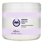 Крем-Маска Keratin Royal Jelly Crem Питательная для Окрашеных и Химически Обработанных Волос, 500 мл