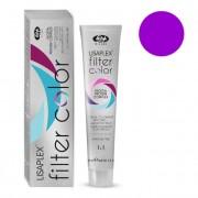 Краситель-Фильтр Lisaplex Filter Color Кремово-Гелевый Безаммиачный с Эффектом Металлик Темно-Фиолетовый, 100 мл