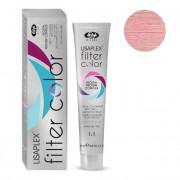 Краситель-Фильтр Lisaplex Filter Color Кремово-Гелевый Безаммиачный с Эффектом Металлик Розовый, 100 мл