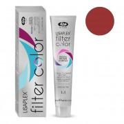 Краситель-Фильтр Lisaplex Filter Color Кремово-Гелевый Безаммиачный с Эффектом Металлик Вишневый, 100 мл