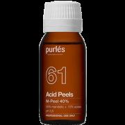 Миндально-Азелаиновый Пилинг для Жирной Кожи M-Peel 40% pH 3,5, 100 мл