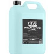 Маска-Блеск Mask-Shine Color Protection Camellia & Silk Protei для Окрашенных Волос, 5000 мл
