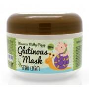 Крем-Маска Milky Piggy Glutinous 80% Mask Snail Cream Ночная для Лица с Муцином Улитки, 100г
