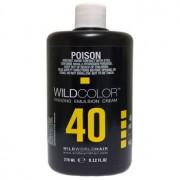 Крем-Эмульсия Wild Color 12% OXI40 Vol. Окисляющая для Краски, 270 мл