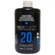 Крем-Эмульсия Wild Color 6% OXI20 Vol. Окисляющая для Краски, 270 мл