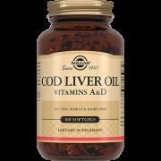Жир Cod Liver Oil из Печени Норвежской Трески Капсулы №100