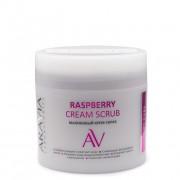 Крем-Скраб Raspberry Cream Scrub Малиновый, 300 мл