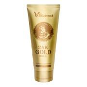Пенка 24K Gold Snail Cleansing Foam для Умывания с Колоидным Золотом и Муцином Улитки, 180 мл