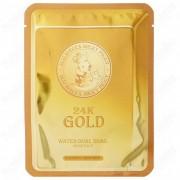 Маска 24K Gold Water Dual Snail Mask Pack для Лица Тканевая с Колоидным Золотом и Муцином Улитки, 25г