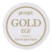 Патчи Gold & EGF Eye & Spot Patch для Области вокруг Глаз и для Точечного Использования с Золотом и EGF, 60 шт + 30 шт,