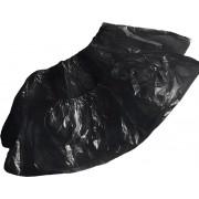 Носки Одноразовые Спанбонд, Черные инд. упаковка L, 3гр, 50 пар