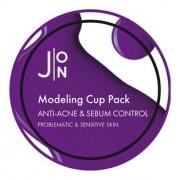 Маска Anti-Acne & Sebum Control Modeling Pack Альгинатная для Лица против Акне, 18г