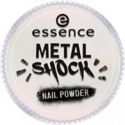 Эффектная Пудра для Ногтей B-To-B Metal Shock Nail Powder, Розовый Перламутр тон 03