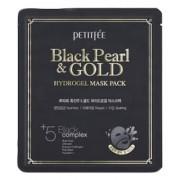 Маска Black Pearl & Gold Hydrogel Mask Pack Гидрогелевая для Лица с Черным Жемчугом и Золотом, 32г