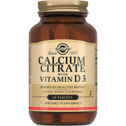 Кальция Calcium Citrate + Vitamin D3 Цитрат с Витамином D3 Таблетки №60
