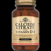 Кальция Calcium Citrate + Vitamin D3 Цитрат с Витамином D3 Таблетки №60, 1 уп