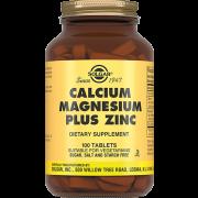 Таблетки Calcium Magnesium Plus Zinc Кальций-Магний-Цинк №100