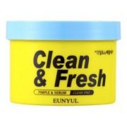 Диски Clean & Fresh Pimple & Sebum Clear Pad Отшелушивающие для Обновления Кожи, 170 мл