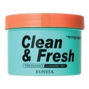Диски Clean & Fresh Pure Radiance Cleansing Pad Очищающие для Снятия Макияжа, 170 мл