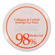 Патчи Collagen & CoQ10 Hydrogel Eye Patch Гидрогелевые для Области вокруг Глаз с Коэнзимом Q10 и 98% Содержанием Коллагена, 60 шт