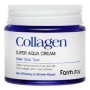 Крем Collagen Super Aqua Cre Суперувлажняющий с Коллагеном, 80 мл