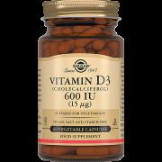 Витамин D3 600 МЕ Капсул №60