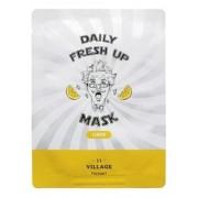 Маска Daily Fresh Up Mask Lemon Тканевая для Лица с Экстрактом Лимона, 20г