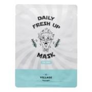 Маска Daily Fresh Up Mask Tea Tree Успокаивающая Тканевая с Экстрактом Чайного Дерева, 20г