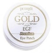 Гидрогелевые Патчи для Области вокруг Глаз с Золотом и EGF Gold & EGF Premium Hydrogel Eye Patch, 60 шт