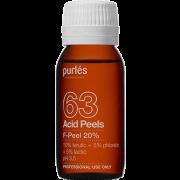 Деликатный Пилинг для Периорбитальной Зоны F-Peel 20% pH 3,5, 60 мл