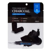 Маска Fresh Charcoal Mask Sheet, Тканевая для Лица с Углем, 23 мл
