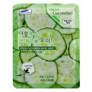 Маска Fresh Cucumber Mask Sheet Тканевая для Лица с Огурцом, 23 мл